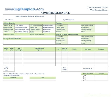 billing invoice template free templates in doc ppt pdf xls