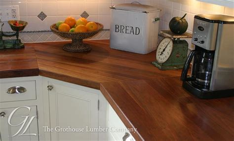 Wood For Countertops by Custom American Cherry Wood Countertop