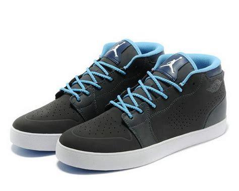 air v1 chukka casual shoes black blue white