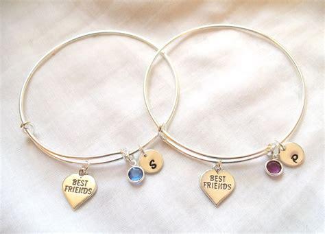 alex and ani style best friend bracelets by theblueeyedbeader
