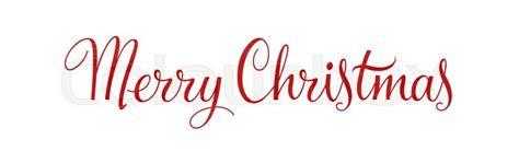 merry christmas vintage calligraphy stock vector colourbox