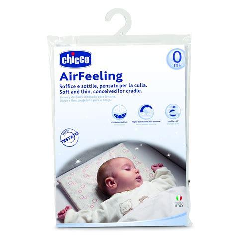 cuscino per lettino neonato chicco cuscino antisoffoco e lettino minsan
