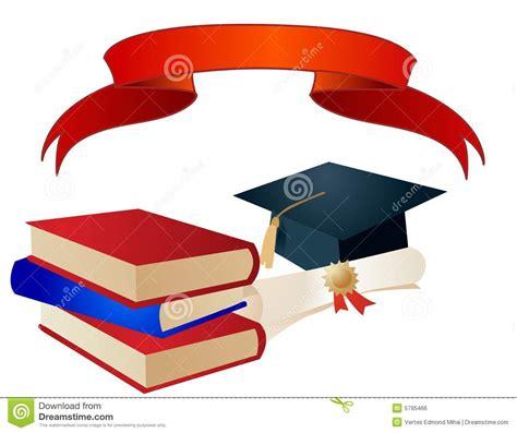 fondo de graduacion im genes de archivo vectores fondo vector de los elementos de la graduaci 243 n imagen de archivo