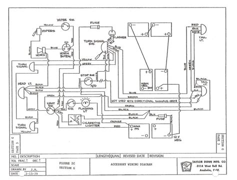 ezgo wiring harness diagram wiring diagram with description
