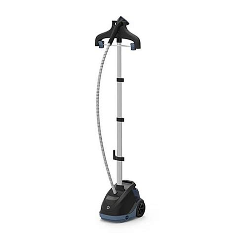 bed bath and beyond clothes steamer rowenta 174 master 360 garment steamer in grey silver bed bath beyond