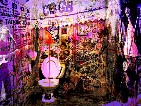 cbgb shower curtain cbgb s by ray brown