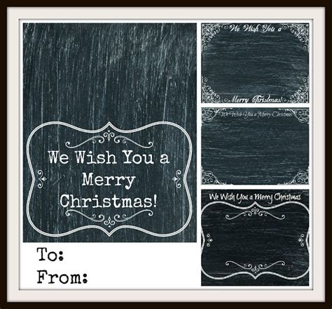 printable chalkboard tags chalkboard christmas cards tags printables knick of time
