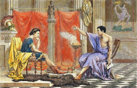 Akg Images Aristoteles Und Sein Sch 252 Ler Alexander