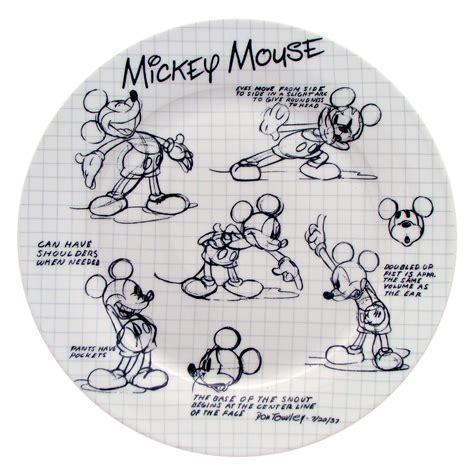 disney sketchbook disney finds sketchbook mickey dinner set