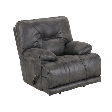 lay flat recliner catnapper voyager power lay flat recliner in slate