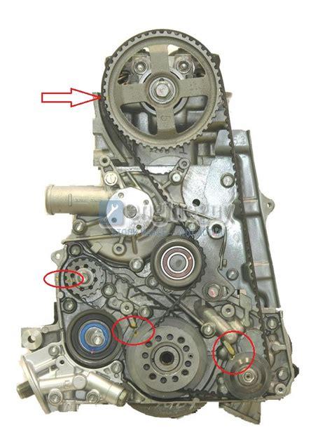 spyder crank position sensor balance belt  timing belt change dsmtuners