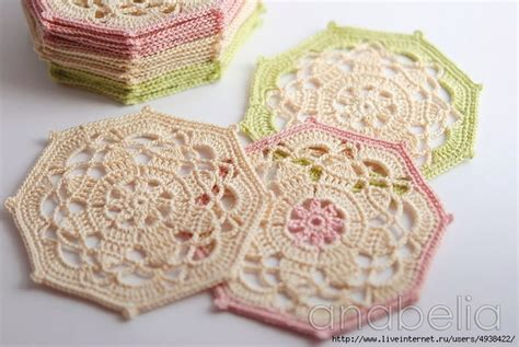 crochet pattern octagon motif octagon crochet coaster pattern crochet kingdom