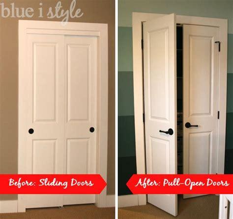 Open Closet Door Organizing With Style Nursery Closet Sliding Doors Doors And Doors