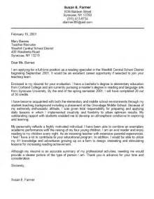 Cover Letter For Student by Student Cover Letter Exles