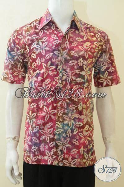 Batik Sarimbit Gradasi Doby Cap batik baju santai cap smoke baju batik pria warna gradasi