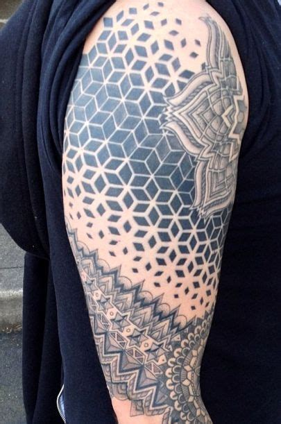 sideshow alley tattoo healed sacred geometry sleeve by cassady bell sideshow