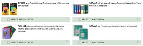 free printable coupon binder 50 off coupon page protectors staples coupons save 50 on couponing binders sheet
