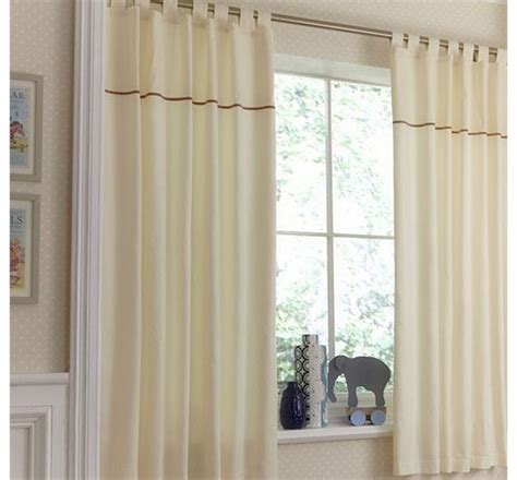 cream tab top blackout curtains star curtains and blinds