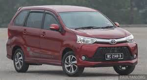Toyota Avanaza Gallery Toyota Avanza Facelift Now On Sale In M Sia