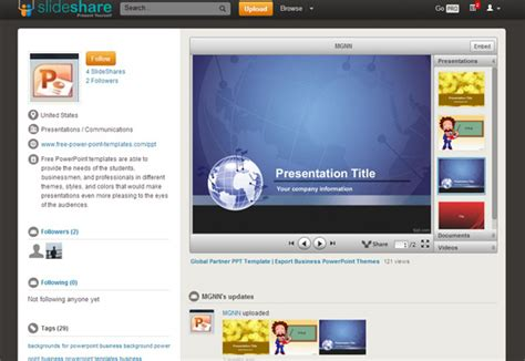 powerpoint themes slideshare free presentation templates for slideshare