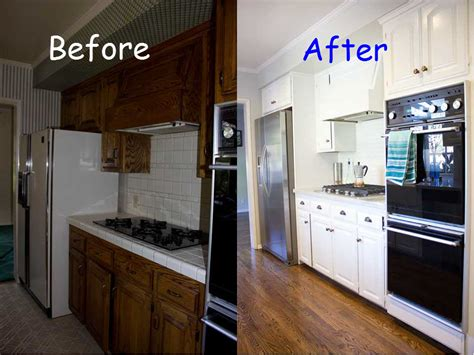 Kitchen Before And After by Before And After Kitchen Makeover