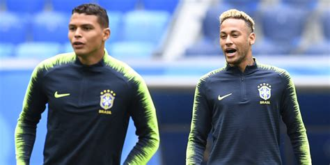 coupe du monde 2018 br 233 sil thiago silva quot attrist 233 quot par