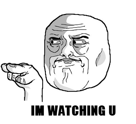 Troll Face Meme Pictures - all troll meme faces watching u face meme on all the