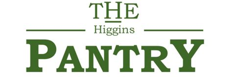 The Higgins Pantry by The Higgins Pantry