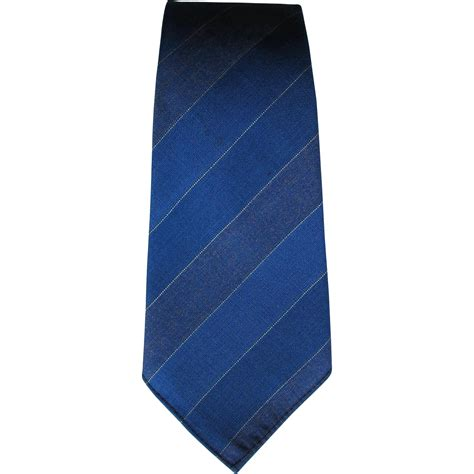 vintage wembley tie with diagonal stripes in shades of