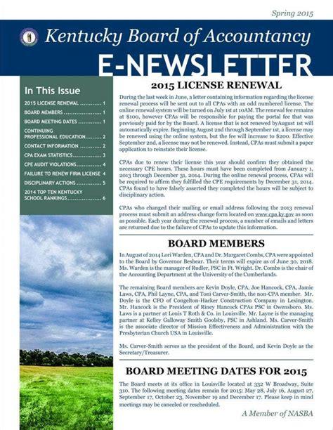 basic newsletter templates word format