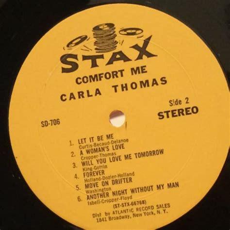 comfort me carla thomas roots vinyl guide