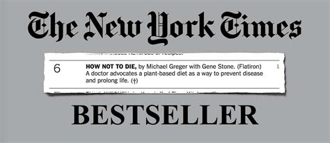 the invasive hits best seller how not to die hits new york times best seller list nutritionfacts org