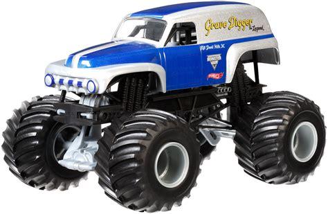 1 24 scale monster jam trucks wheels monster jam 1 24 scale grave digger the legend