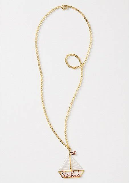 8 Pretty Necklaces For Summer by Rafia And Bosa Gallant Voyager Necklace 8 Pretty