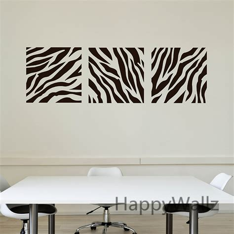 M8 Wallpaper Sticker Motif Zebra zebra stripe wall sticker decorative zebra wall decal diy removable wall decoration modern wall