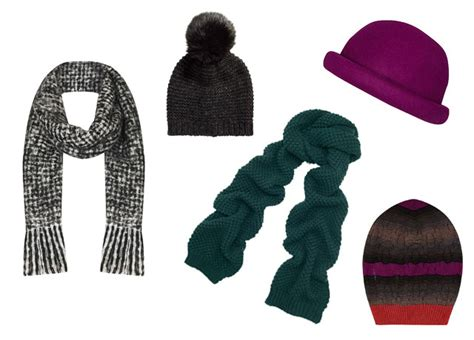 hats scarves to keep you cosy