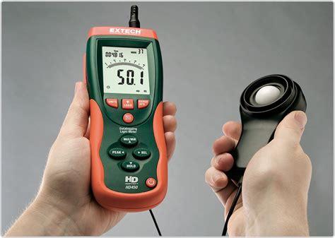 Meters In A Light Year by Extech Hd450 Datalogging Heavy Duty Light
