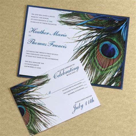 17 best ideas about peacock wedding invitations on peacock wedding peacock theme