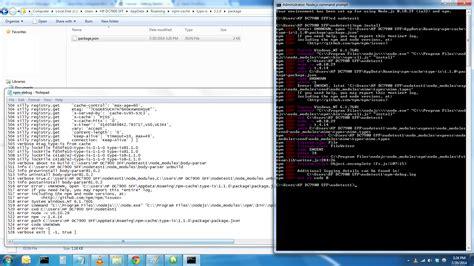 node js tutorial quora node js nodejs express npm install dependencies errors