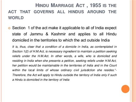 Section 27 Of Hindu Marriage Act by And Procedure Of Divorce In Hindu
