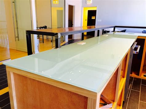 Glass2 Countertops by Chicago Glass Projects Ultimate Glass Inc