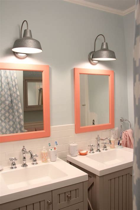 kids bathroom mirror how to increase your bathroom s charm with the right lighting