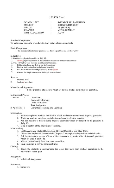lesson plan template for science worksheets science grade 8 worksheet exle