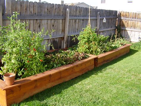 Backyard Planters Ideas by Garden Planter Box Rolling Elevated Planter Box U Garden