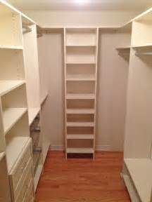 Walk in closet after traditional closet toronto by tailored