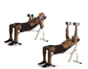 dumbbell bench press incline dumbbell bench press