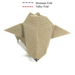 How To Make An Origami Cow - how to make a standing origami cow page 16