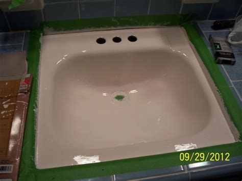 epoxy paint for bathroom sink 1000 images about epoxy applications on pinterest exterior tiles painted floor