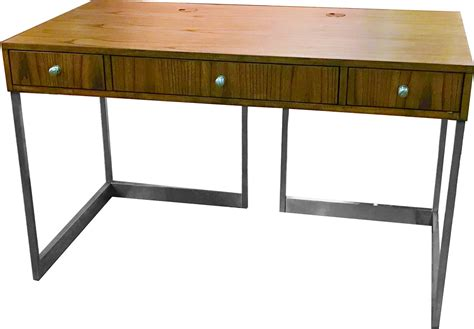 parker house madison 50 inch writing desk with metal base
