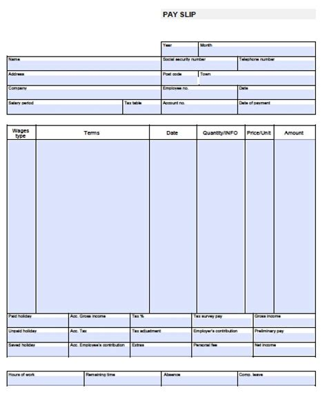 8 pay stub template pdf timeline template